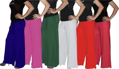 Xarans Regular Fit Women's Pink, Green, White, Red, Blue, Orange Trousers