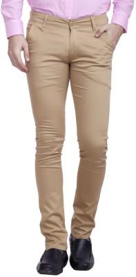Nimegh Regular Fit Men's Beige Trousers