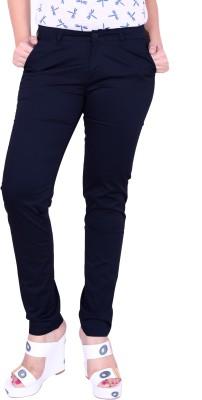 Airwalk Regular Fit Women's Blue Trousers