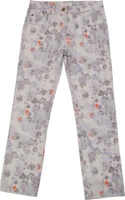 NOQNOQ Regular Fit Girl's Multicolor Trousers