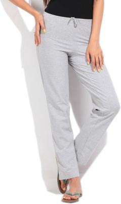 Jockey Regular Fit Women's Grey Trousers