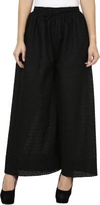 Kaaviyaz Regular Fit Women's Black Trousers