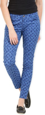 Max Skinny Fit Women's Blue Trousers