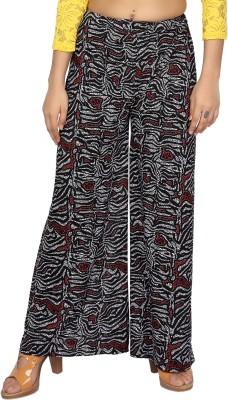 Comix Regular Fit Womens Black, Red Trousers