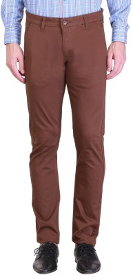 Vintage Polo Assn Slim Fit Men's Brown Trousers
