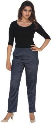 Fast n Fashion Regular Fit Women's Blue Trousers