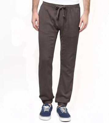 Wear Your Mind Regular Fit Men's Grey Trousers