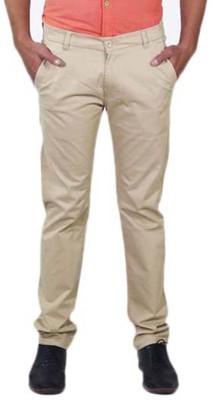 Rollister Slim Fit Men's Beige Trousers