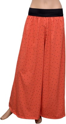 GraceDiva Regular Fit Women's Orange Trousers