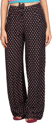 Comix Regular Fit Womens Black Trousers
