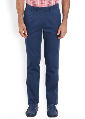 ColorPlus Regular Fit Men's Dark Blue Trousers