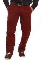 ColorPlus Regular Fit Mens Brown Trousers