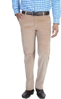Live In Slim Fit Men's Beige Trousers