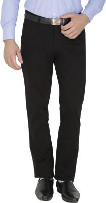 Sparky Slim Fit Men's Black Trousers
