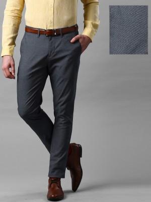 Invictus Slim Fit Men's Dark Blue Trousers