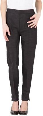 A A Store Regular Fit Women's Black Trousers