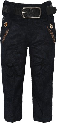Generationext Regular Fit Baby Boys Blue Trousers
