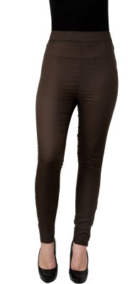 I Am For You Regular Fit Women's Green Trousers