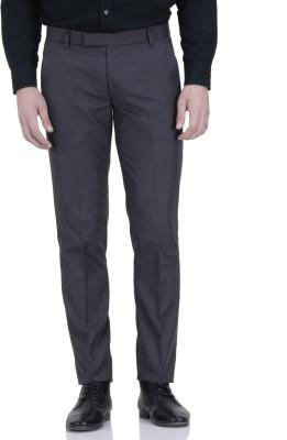 Febulous Slim Fit Men's Grey Trousers
