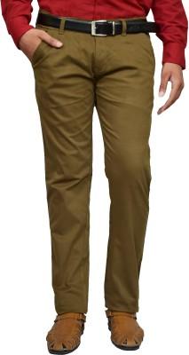 American Noti Slim Fit Men's Dark Green Trousers