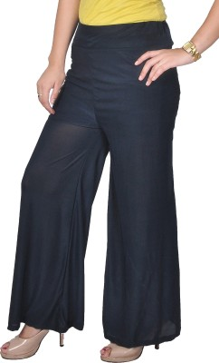 Nifty Regular Fit Women's Black Trousers