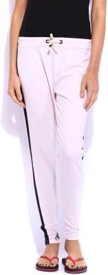 Jn Joy Slim Fit Women's Pink Trousers