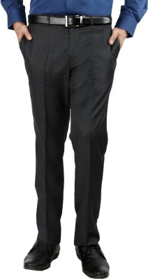 Oxemberg Slim Fit Men's Blue Trousers