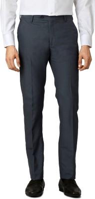 Allen Solly Regular Fit Men,s Grey Trousers