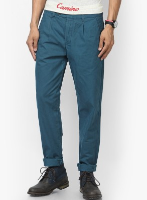 Jack & Jones Regular Fit Men's Blue Trousers