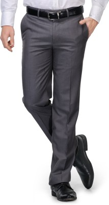 Leonardi Slim Fit Men's Grey Trousers