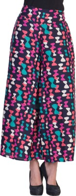 Tooba Regular Fit Women's Multicolor Trousers
