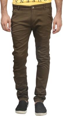 Trendy Trotters Regular Fit Men's Dark Green Trousers