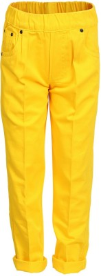 benext Regular Fit Boy's Yellow Trousers