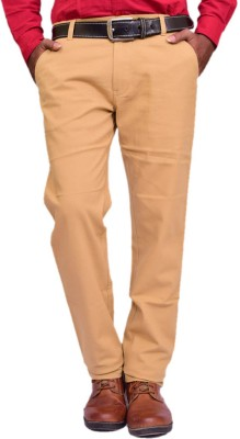 British Terminal Skinny Fit Mens Yellow Trousers