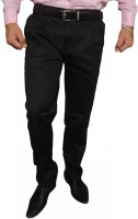 Hartmann Slim Fit Mens Black Trousers