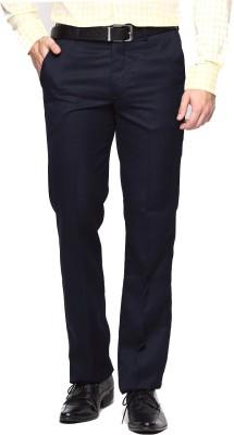 AD & AV Regular Fit Men's Dark Blue Trousers