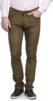 Ruace Slim Fit Men's Green Trousers