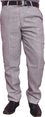 Larwa Fashion Regular Fit Men's Grey Trousers