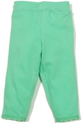 Solittle Regular Fit Baby Girl's Green Trousers