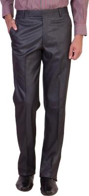 Maciej Regular Fit Men's Silver Trousers