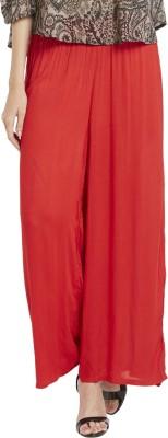 Globus Regular Fit Women's Red Trousers
