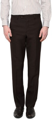 Van Heusen Slim Fit Men's Brown Trousers