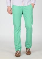 Breakbounce Regular Fit Men's Green Trousers