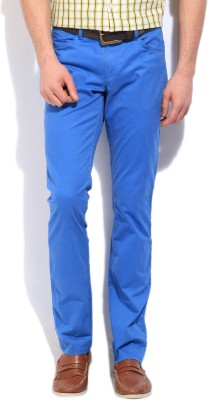 Nautica Slim Fit Men's Blue Trousers