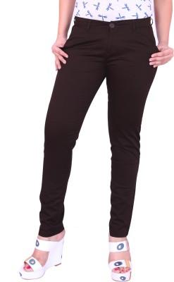 Airwalk Regular Fit Women's Brown Trousers