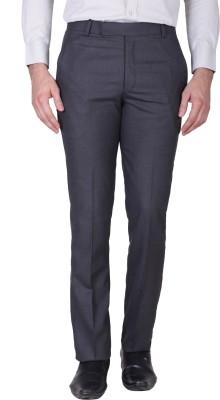 MINDITDADDY Slim Fit Men's Grey Trousers
