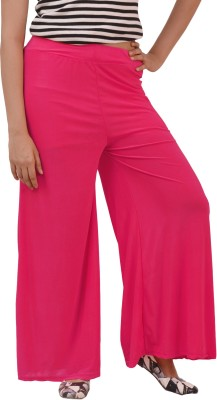 Ace Regular Fit Women's Pink Trousers