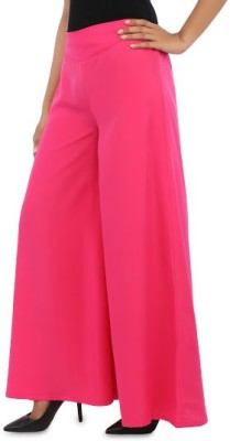 Navyou Regular Fit Women's Pink Trousers