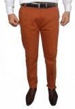 Hartmann Slim Fit Men's Orange Trousers