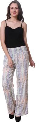 Purys Regular Fit Women's White Trousers